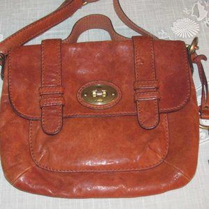 Fossil Long Live Vintage Crossbody Bag Leather